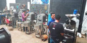 Berto Roaster Roasting Facility | Coffee roasting machine from Berto Coffee Roaster